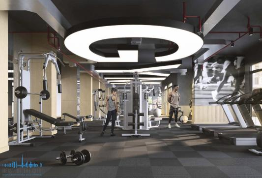Fitness  in Belgravia Square at JVC Dubai/Ellington Group