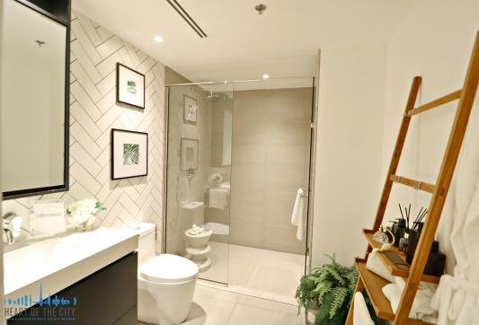 Bathroom Apartment for sale in Belgravia Square at JVC Dubai/Ellington Group